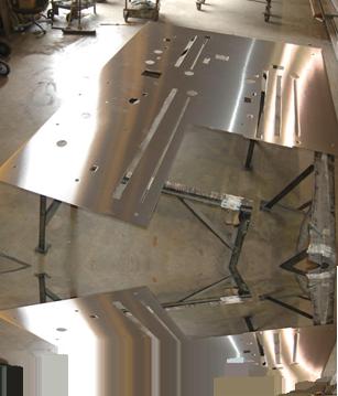 stainless steel plate polising
