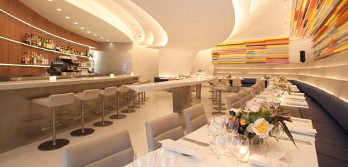 Guggenheim Wright Restaurant Polished Chair Bases